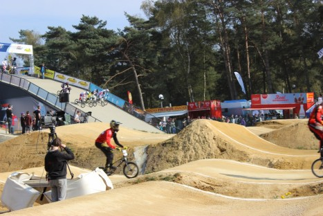 Kick-off van de UEC BMX European league